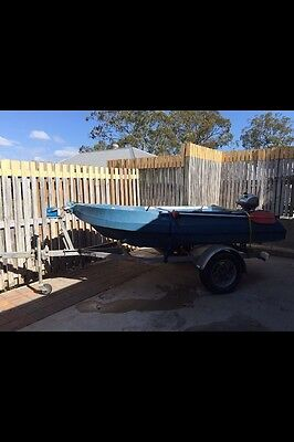 Poly Craft Boat And Trailer