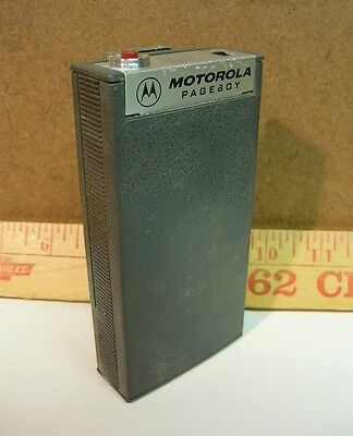 1960s Vintage Motorola PAGEBOY Lowband Radio Pager Page Boy