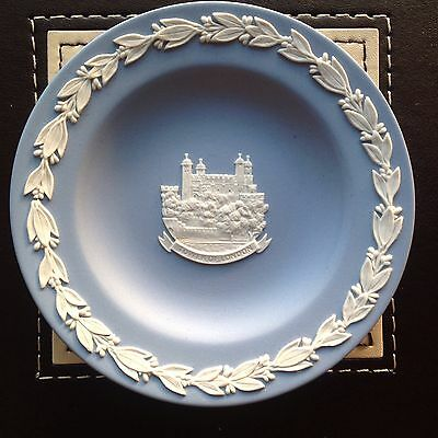 Blue Wedgewood Jasperware Pin Dish