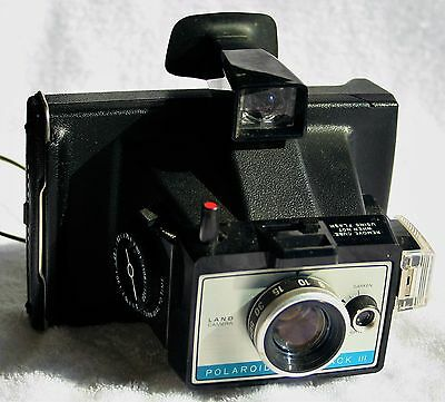 Vintage Polaroid Land Camera Colorpack 3 (III) with case
