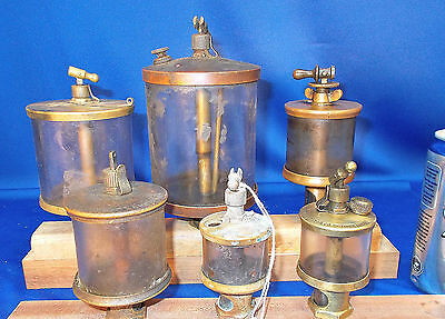 44 ~ 6 Piece Steam Engine Mixed Oiler OPPORTUNITY LOT