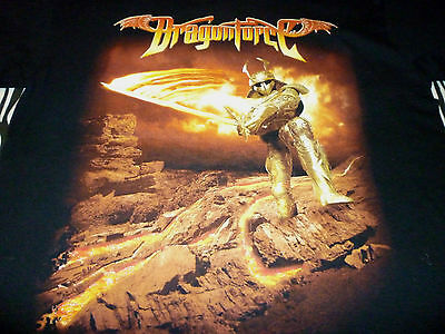 DragonForce Tour Shirt ( Used Size M Missing Tag  ) Good Condition!!!