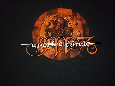 A Perfect Circle Tour Shirt ( Used Size XL ) Nice Condition!!!
