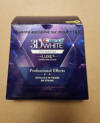 Crest3D White Luxe Professional Blanchiment Dentaires