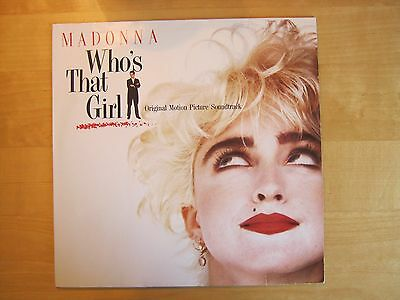 Madonna 1987 Sire LP Who's That Girl, EX EX