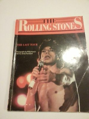 The Rolling Stones The Last Tour Book Magazine Kamin Karnbach