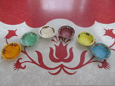 Marutomoware Nut Dish Cups Harlequin Style  Rare