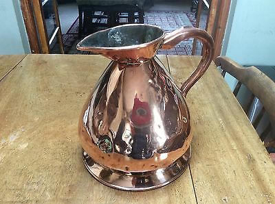 Victorian Copper 1 Gallon Jug..Used and loved.
