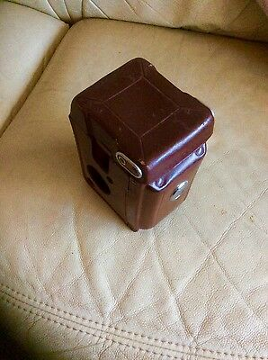 Rolleiflex leather case. Very nice!