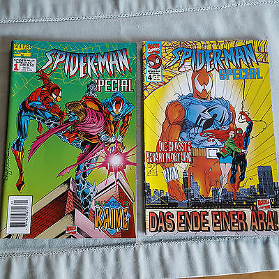 Spiderman Special Heft 1 und 4 Marvel Comics