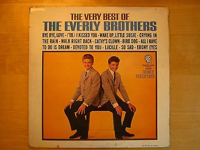Very Best of the Everly Brothers 1964 Warner Brothers mono LP, original UK press