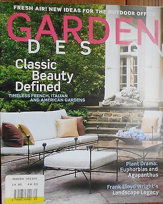 Garden Design Magazine May 2009 Outdoor Office Frank Lloyd Wright