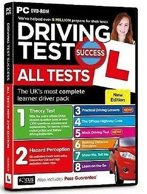 Driving Theory Test Success All Tests & Hazard Perception PC DVD 2016/2017 *NEW*
