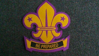 Scout Campfire Blanket Iron-On Cloth Badge Patch NEW