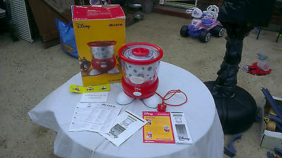 Ariete Disney Mickey Mouse Ice Cream Maker New Boxed & Instructions Bargain