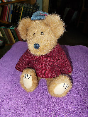 The Boyds Collection Leo Bruinski Teddy Bear Baseball Plush Soft Toy Free Uk P&p