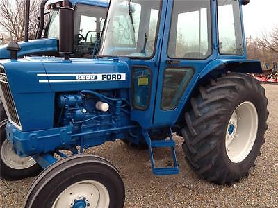 FORD TRACTOR 5000 7710 Workshop Manual Maintenance