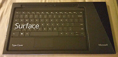 Microsoft Surface Type Cover Black Keyboard for RT, Pro Model 1535 Brand New!