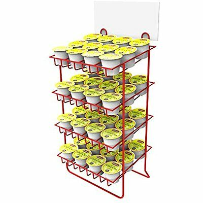 Fixture Displays Wire Small Bottle Canister 2.5 Slot Nail Polish Display Rack