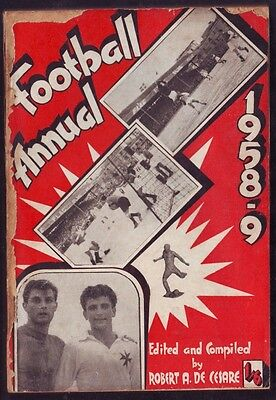 Malta Football Annual dated 1958-59 part on Gozo Soccer with photos Very Rare