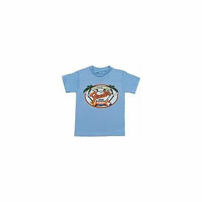 Fender World Famous Visitor's Center Youth T-Shirt, hellblau, XS