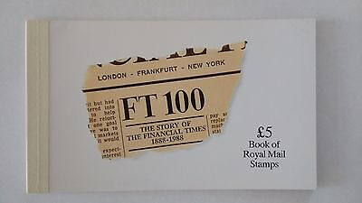 DX9 The Story of The Financial Times 1986 Royal Mail Prestige Stamp Book