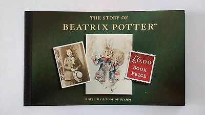 DX15 The Story of Beatrix Potter. 1993 Royal Mail Prestige Stamp Book. Free P&P