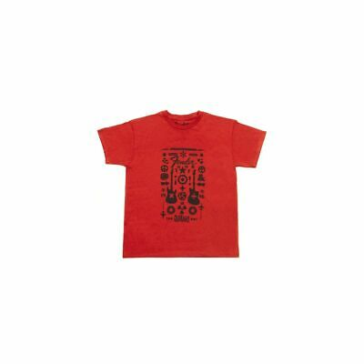 Fender Guitar Formula Youth T-Shirt, limitiert, rot, L