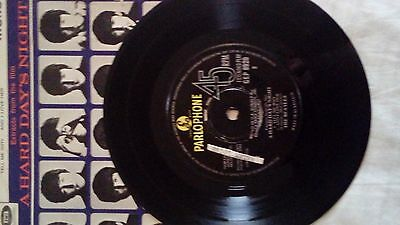 "7"" vinyl EP by The Beatles: A Hard Days Night: 1. I Should Have Known Better 2."