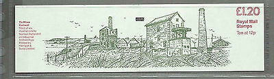 GB 1980 - £1.20 FOLDED BOOKLET - TIN MINES CORNWALL Complete & Mint MNH