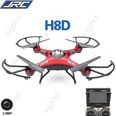 JJRC H8D 4CH 360° Flips 2.4GHz RC Quadcopter w 2MP FPV Camera DRONE,DRON CON CAM