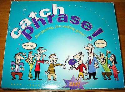 ORIGINAL CATCH PHRASE Game! VINTAGE! 1994 100% Complete! GOOD USED CONDITION!