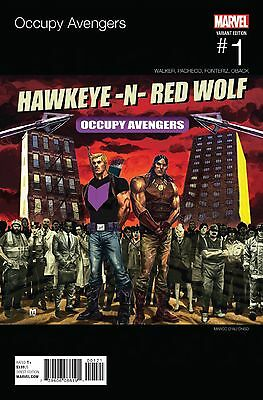 Occupy Avengers #1 Marco D'alfonso Hip-Hop Variant Cover Nm 1St Printing 2016