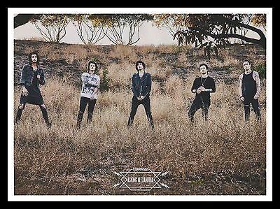 Asking Alexandria Original Framed Music Magazine Picture Poster A4