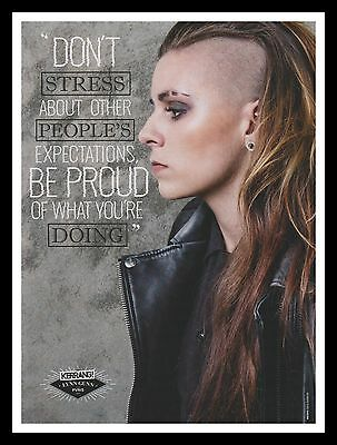 Pvris Original Framed Music Magazine Picture Poster A4