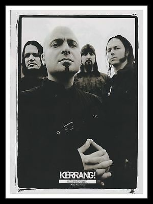 Disturbed David Draiman Original Framed Music Magazine Picture Poster A4