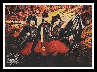 Babymetal Original Framed Music Magazine Picture Poster A4