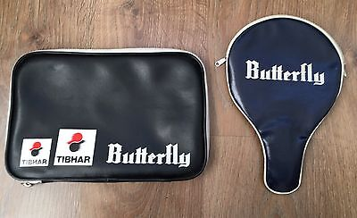 Vintage BUTTERFLY Table Tennis 2 x Case Blades