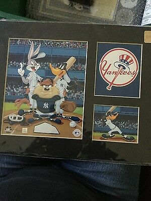 Looney Tunes New York Yankee lithograph