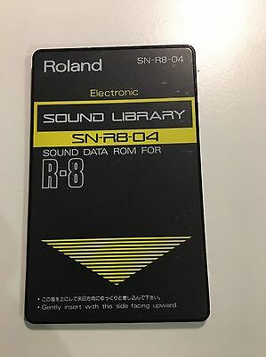 Roland R8 Sound Modul Electronic SN-R8-04 Sounds From TR-808