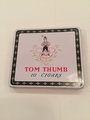 Collectable Vintage Tom Thumb Cigar Tin