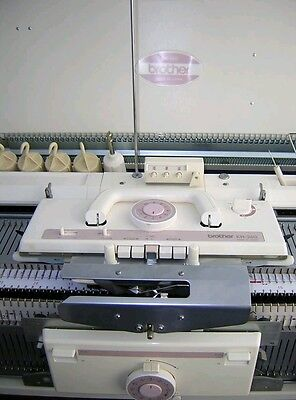 Brother knitting machine chunky punch card KH 260 + KR 260 Ribber package
