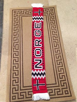 Norway/norge Football Scarf
