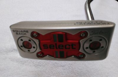 """Putter Titleist Scotty Cameron           Square Back Select 34"""" Rh"""