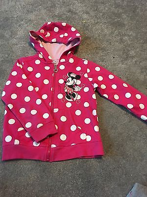 Age 7 Girls Minnie Mouse Hoodie