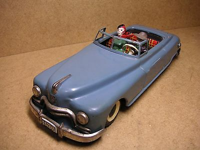 WoW Arnold Candidat Cabrio Blech US Zone Germany Tin Car Tole Latta