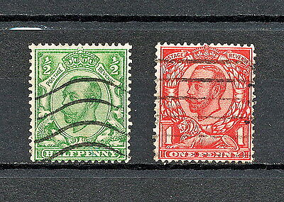 Gbaa 401  Gb Kgv 1912  Used Wmk 32 Wz 13