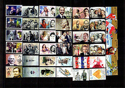 Norway 2009-2014 Commemoratives Used