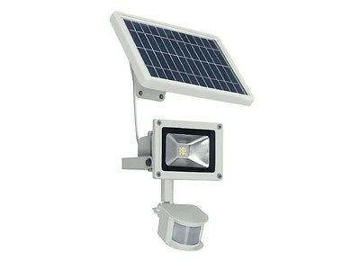 LED Solar Light Wall Spotlight Spot Terrace Garden Lamp Motion sensor