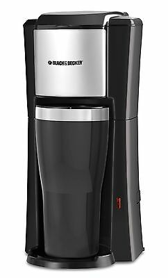 BLACK+DECKER CM618C Single Serve Coffee Maker, Black